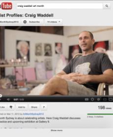Craig Waddell Interview With Art Month Sydney (Mar 2012)