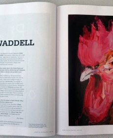 Craig Waddell featured in the Australian Art Collector Jan edition 2012