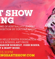 Waddell selected as featured artist at the 36th King's Art Award 2015