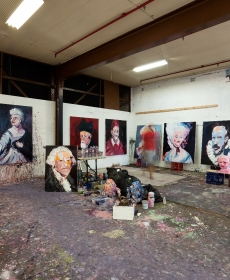 Waddell is awarded the 2007 Gunnery Studio Residency, Arts NSW