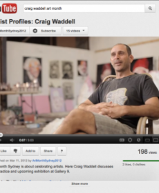 Craig Waddell Interview With Art Month Sydney (Mar 2012)