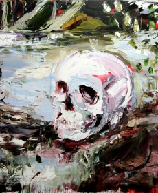 Waddell's painting 'You Lie Deep Within' selected for the 2015 EMSLA Art Award, Coffs Harbour Regional Gallery